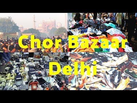 Chor Bazar Delhi - Buy Cheap Price Shoes, Watches, Electronics, Camera & Electronics Market