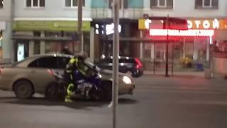 Мото неудачи/ unfortunate motorcycle accident 不幸的摩托车意外