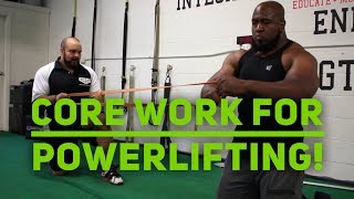 What Core Work Should I Do for Powerlifting?
