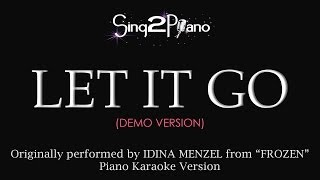 "Frozen's ""Let It Go"" (Piano Karaoke Version) Idina Menzel"