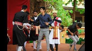 Valaga Dance By Gowdas And Kodavas At St Aloysius College