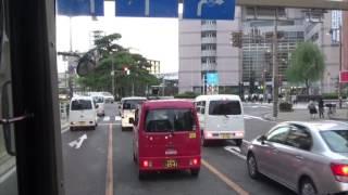 【惜別】【前面展望】新潟交通県内高速バス 新潟上川線 上川支所行き