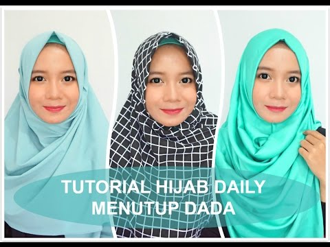 Video 3 Tutorial Hijab Daily (menutup dada) - Alyn Devian
