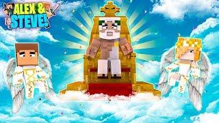 MinecrafT ANGEL BABY ALEX & BABY STEVE ASK GOD FOR HELP!!! Life of Alex & Steve