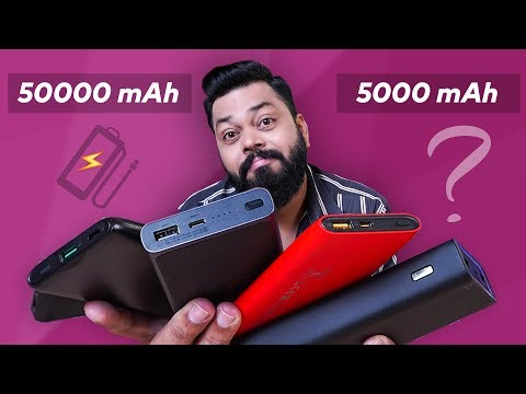 How To Buy A Perfect Powerbank ⚡⚡⚡ Powerbank Buying Guide 2019