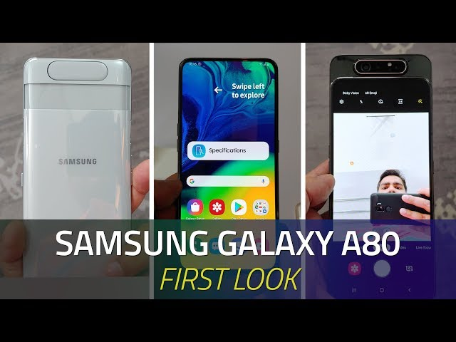 Samsung Galaxy A80, Galaxy A70 Price and India Launch Date Revealed