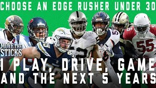 Which Edge-Rusher Under 30 Would You Choose for 1 Play, Drive, Game, & the Next 5 Years | NFL