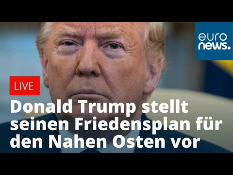 Trumps Plan für Nahost: Vielleicht nur Ablenkung