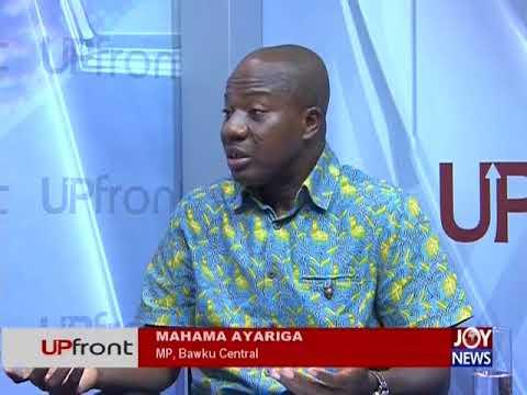 US-GHANA Military Cooperation - UPfront on JoyNews (5-4-18)