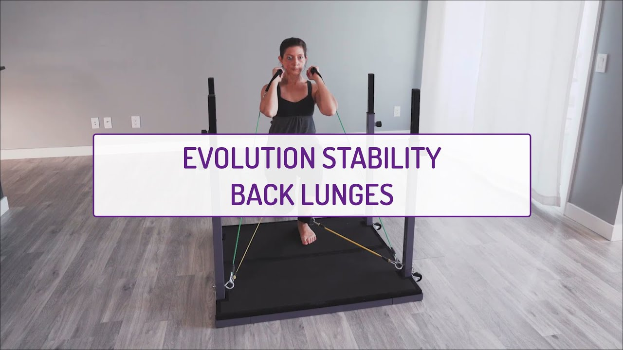Evolution Stability Back Lunges