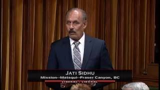 Jati Sidhu – Member's Statement – September 27, 2016