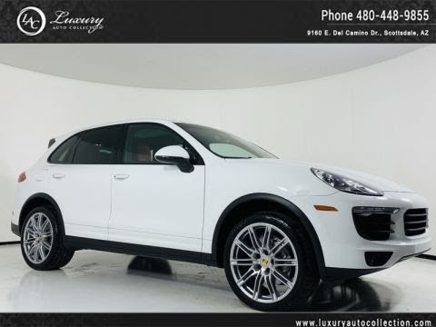 Pre-Owned 2017 Porsche Cayenne S AWD