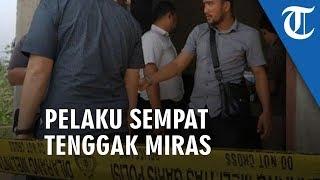 Pelaku Bantai Satu Keluarga di Serang setelah Minum Miras di Warung