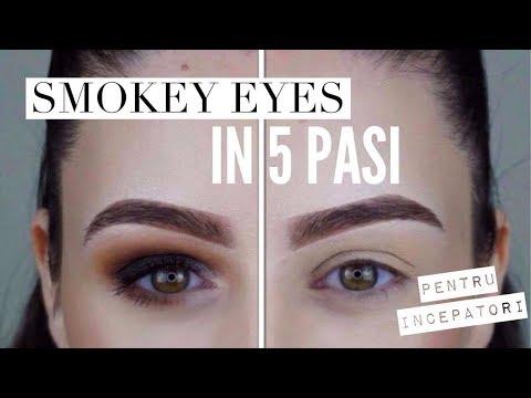 Smokey Eyes In 5 Pasi Pentru Incepatori Alexandra Minghel