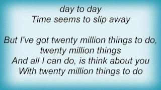 Suzy Bogguss - 20 Million Things Lyrics