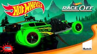 Hot Wheels Race Off Glow Wheels