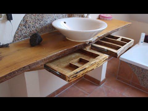Waschtisch Schubladen Eiche / Vanity drawer oak
