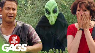 Best of Sci-Fi Pranks Vol. 2 | Just For Laughs Compilation