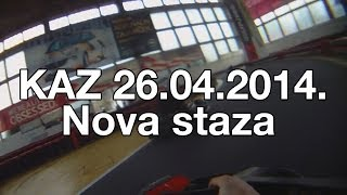 preview picture of video 'Karting Arena Zagreb - nova staza: 26.04.14.'