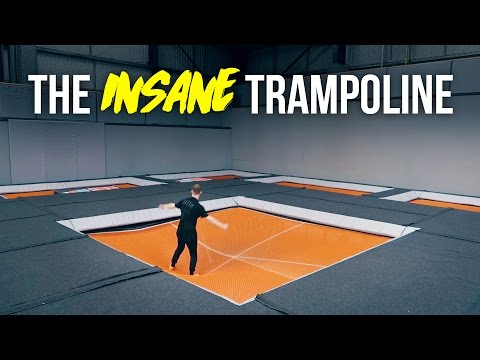 INSANE TRAMPOLINE PARK TRICKS!