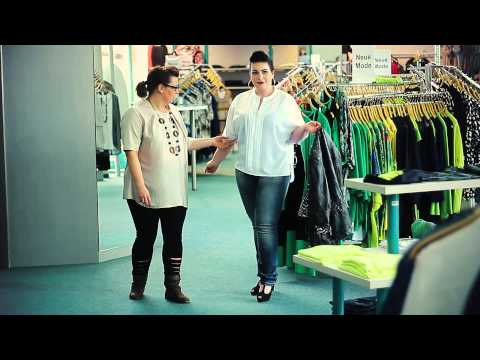 Mode 58 präsentiert: Junge Mode in großen Größen - Heikes Kombi