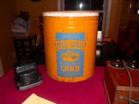 Lard Bucket Dinner on the Ground