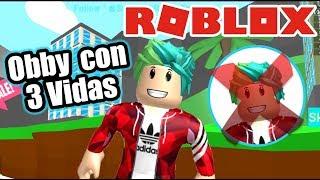 Obby De Roblox Con 3 Vidas | Escape Del Barco | Juegos Roblox Karim Juega