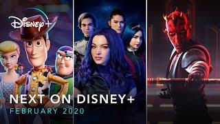 Next On Disney+ - February 2020 | Disney+ | Now Streaming