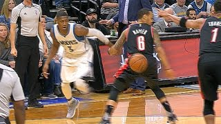 Kris Dunn Shows Off Insane Dribble To Get Around Defender