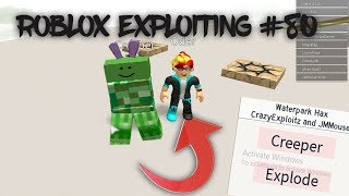 Roblox Exploiting #80 - BLOWING UP ODERS