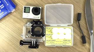 How to Keep Your GoPro Waterproof with an External Mic & No Modifications in 2 minutes
