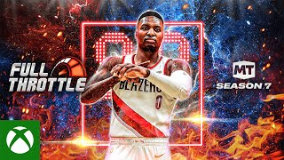 Xbox NBA 2K21 MyTEAM Season 7: Full Throttle anuncio