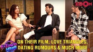 Kartik, Ananya & Bhumi on Pati Patni Aur Woh, love triangles, dating rumours, Kartik on Sara & more