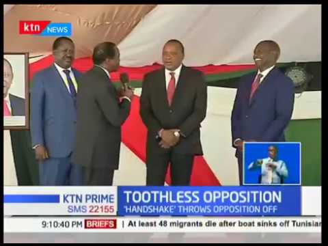 The beginning of the end of Kenya's opposition? Opposition in disarray after 'handshake'