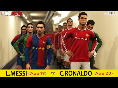 DOWNLOAD: PES 2018 | TEAM RONALDO POGBA VS TEAM MESSI VIDAL