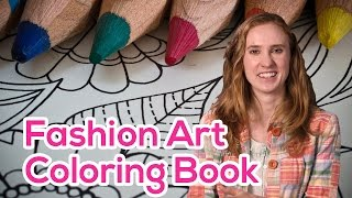 Funny Amazon Reviews: An Fashion Art Coloring Book