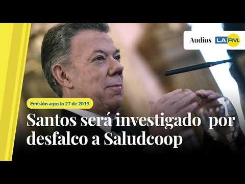 Santos sera investigado por desfalco a Saludcoop