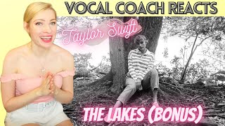 Vocal Coach Reacts: TAYLOR SWIFT 'The Lakes' Bonus Track!