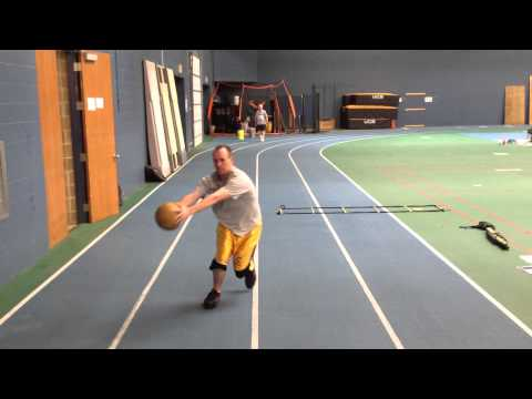 Medicine Ball Lateral Bound