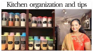 USA | Tamil vlog | kitchen organization and tips