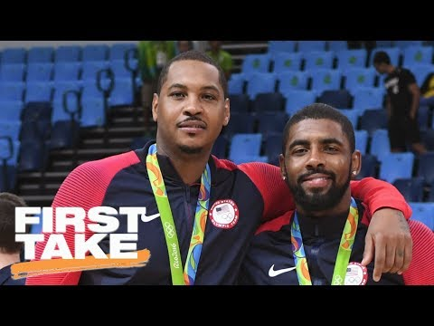 Kyrie Irving 'Very Badly' Wants To Be A New York Knick | First Take | ESPN