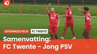 FC Twente door twee doelpunten van Lamprou langs Jong PSV