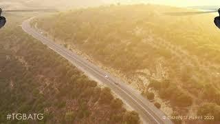 [2 MIN FLIGHT] FPV Drone Flying Over European Roads At Sunset