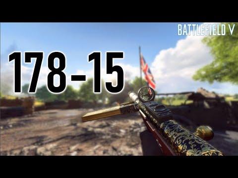 178 Kills on Battlefield 5! (11+ K/D Ratio) Battlefield V High Killstreaks Gameplay