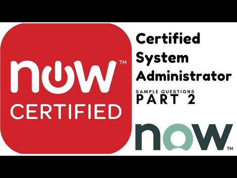 ServiceNow Certified System Administrator sample questions: Part2 ...