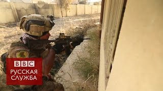 Облава на боевиков и фабрика дронов в Мосуле