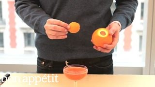 How to Flame an Orange Peel for Cocktails