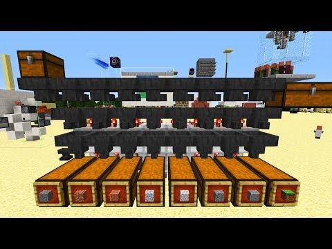 Automatisches Redstone Minecraft Lager - Minecraft Tutorial