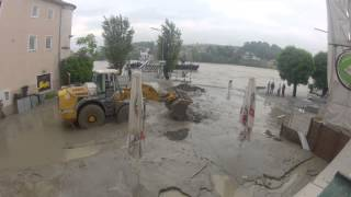 preview picture of video 'Hochwasser 2013 06 05'