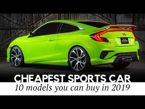 10 Cheapest Sports Cars On Sale In 2019: Reviewing Speeds, Interiors And Exteriors